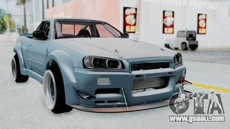 Nissan Skyline R34 PickUp for GTA San Andreas