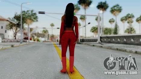WWE Naomy for GTA San Andreas third screenshot