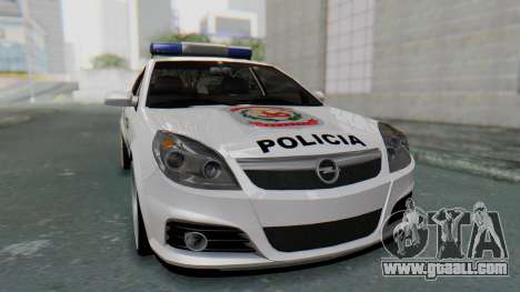 Opel Vectra 2005 Policia for GTA San Andreas right view