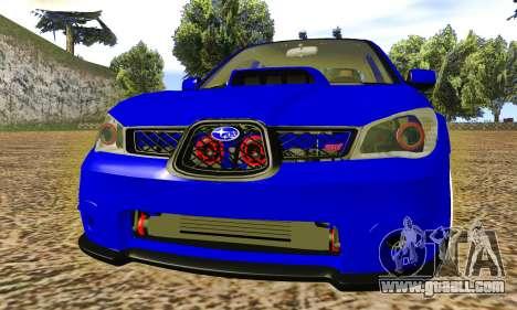 Subaru Impreza WRX STI Lisa for GTA San Andreas
