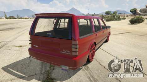 Volvo 945 for GTA 5