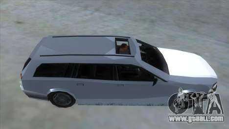 GTA LCS Sindacco Argento for GTA San Andreas inner view