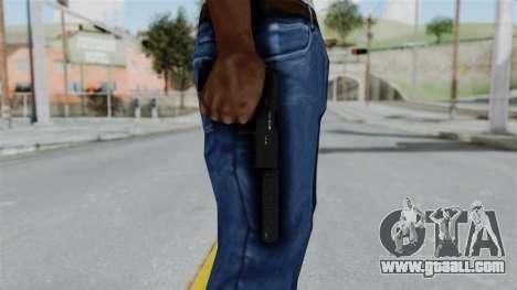 GTA 5 Combat Pistol for GTA San Andreas