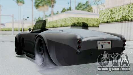 GTA 5 Mamba for GTA San Andreas left view