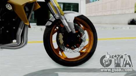 Honda CB1000R v2 for GTA San Andreas back left view
