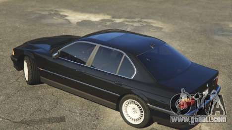 GTA 5 BMW 750i (e38) left side view