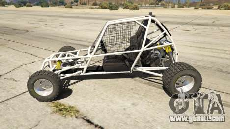 GTA 5 Kart Cross left side view