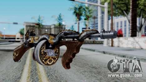 Dragon Thompson for GTA San Andreas second screenshot