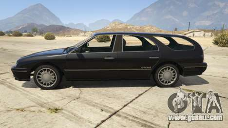 GTA 5 GTA IV Solair left side view