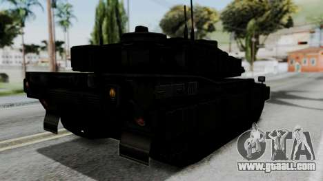 Point Blank Black Panther Woodland IVF for GTA San Andreas left view