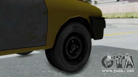 Dacia 1325 Liberta Rusty for GTA San Andreas back left view
