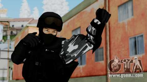 S.W.A.T v4 for GTA San Andreas
