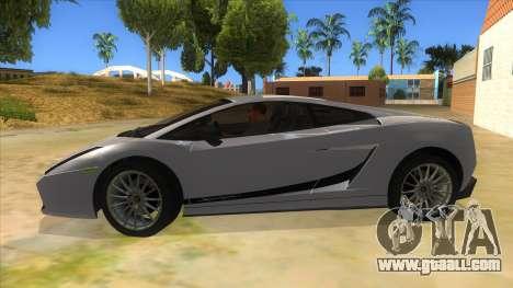 Lamborghini Gallardo 2012 Edition for GTA San Andreas left view