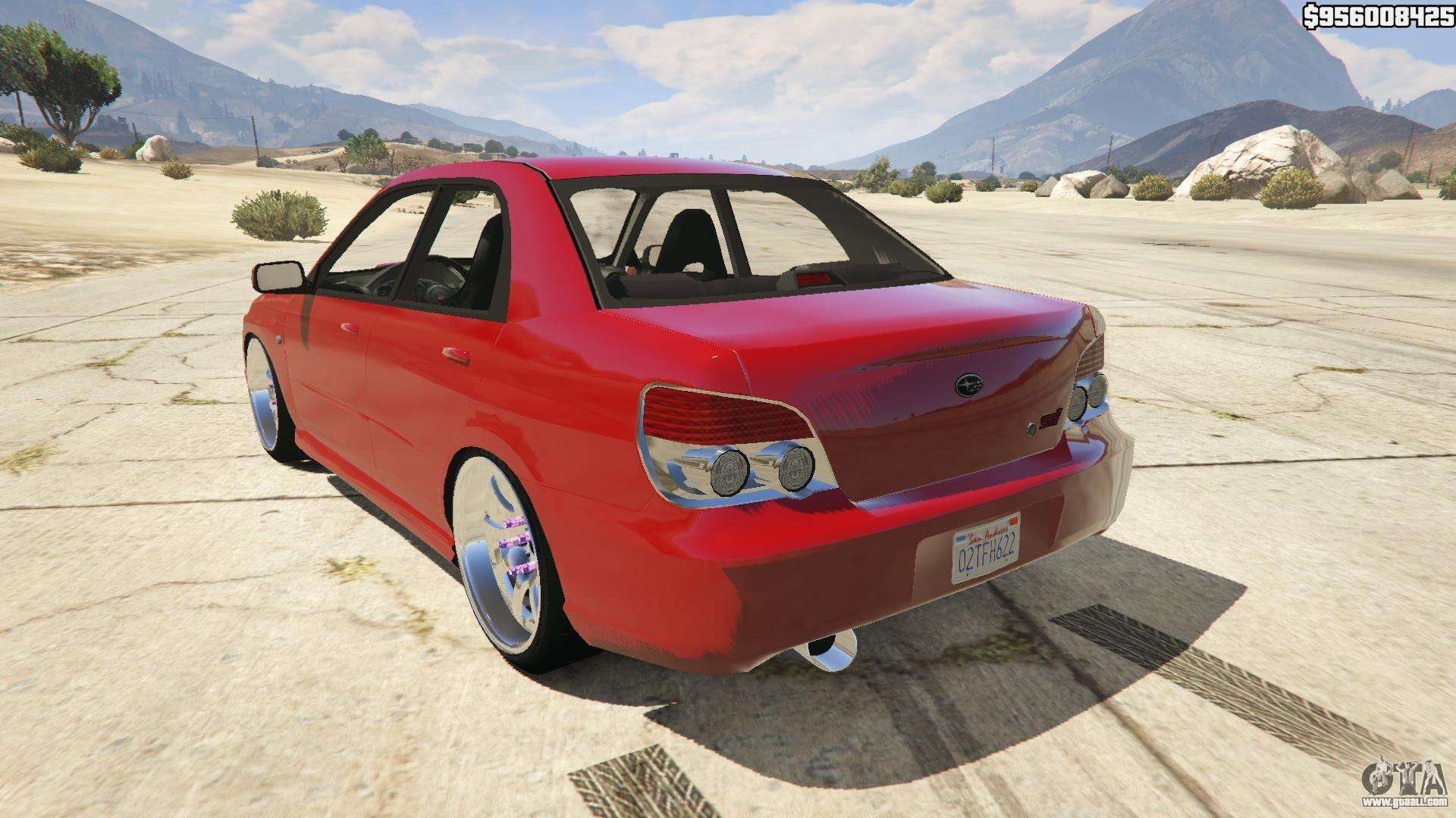 2006 subaru impreza wrx sti jdm for gta 5. Black Bedroom Furniture Sets. Home Design Ideas