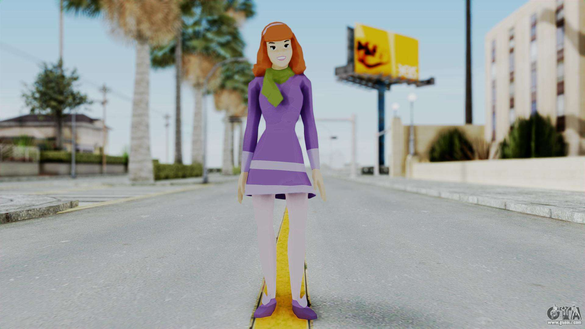Scooby Doo Fred en el cuerpo de