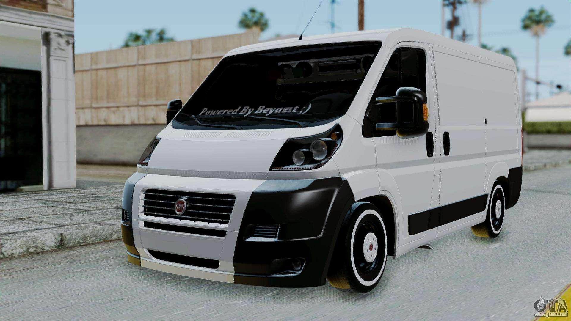 fiat ducato for gta san andreas. Black Bedroom Furniture Sets. Home Design Ideas