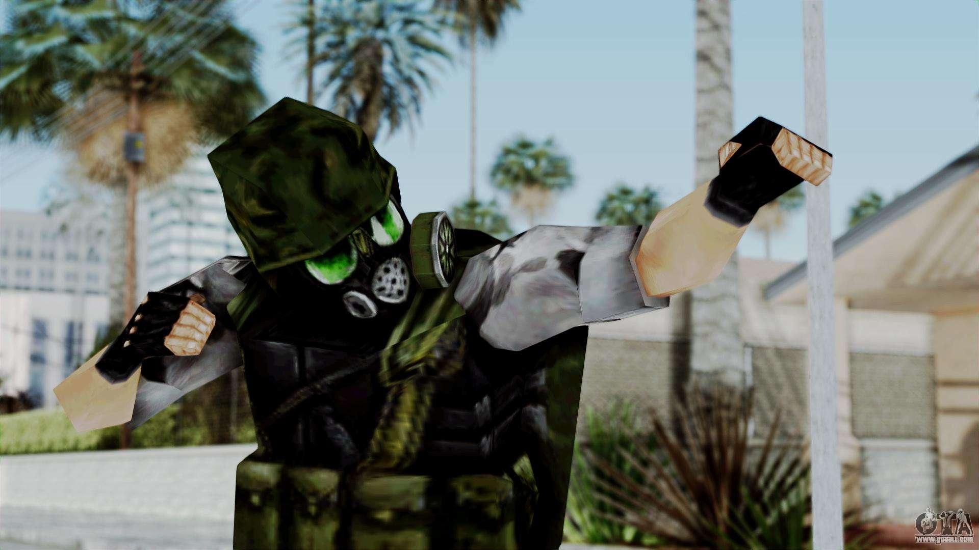 Shephard From Half Life Opposing Force For Gta San Andreas