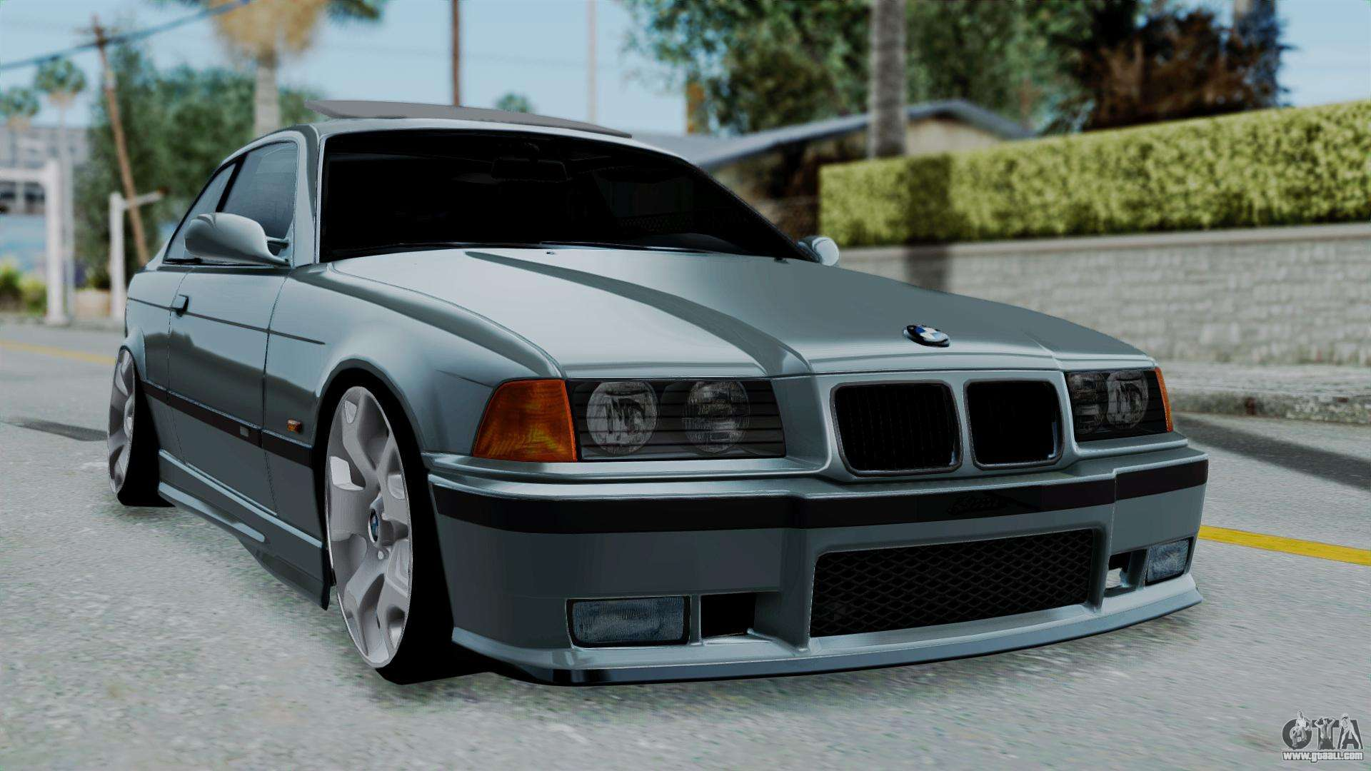 bmw 320 e36 coupe for gta san andreas. Black Bedroom Furniture Sets. Home Design Ideas