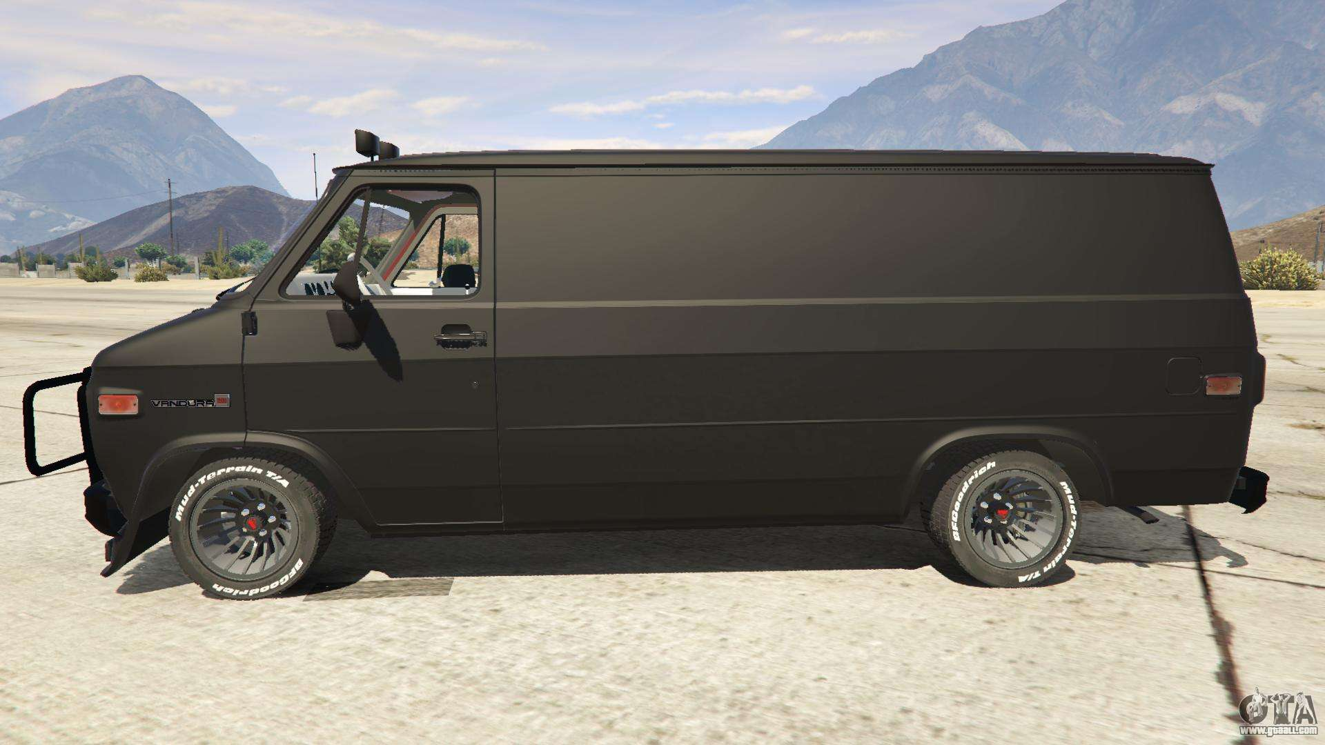 Gmc Vandura A Team Van For Gta 5