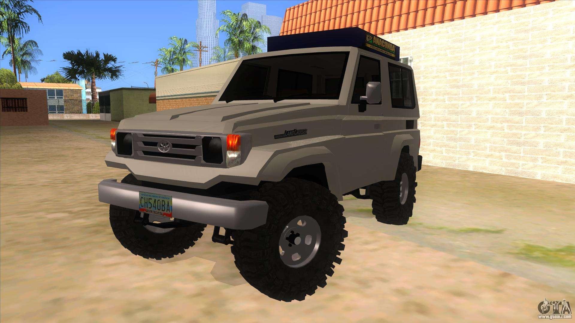 Toyota Machito 4x4 For Gta San Andreas