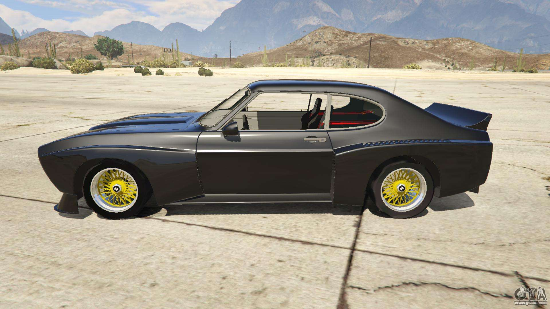 9 Seater Car >> 1974 Ford Capri RS for GTA 5