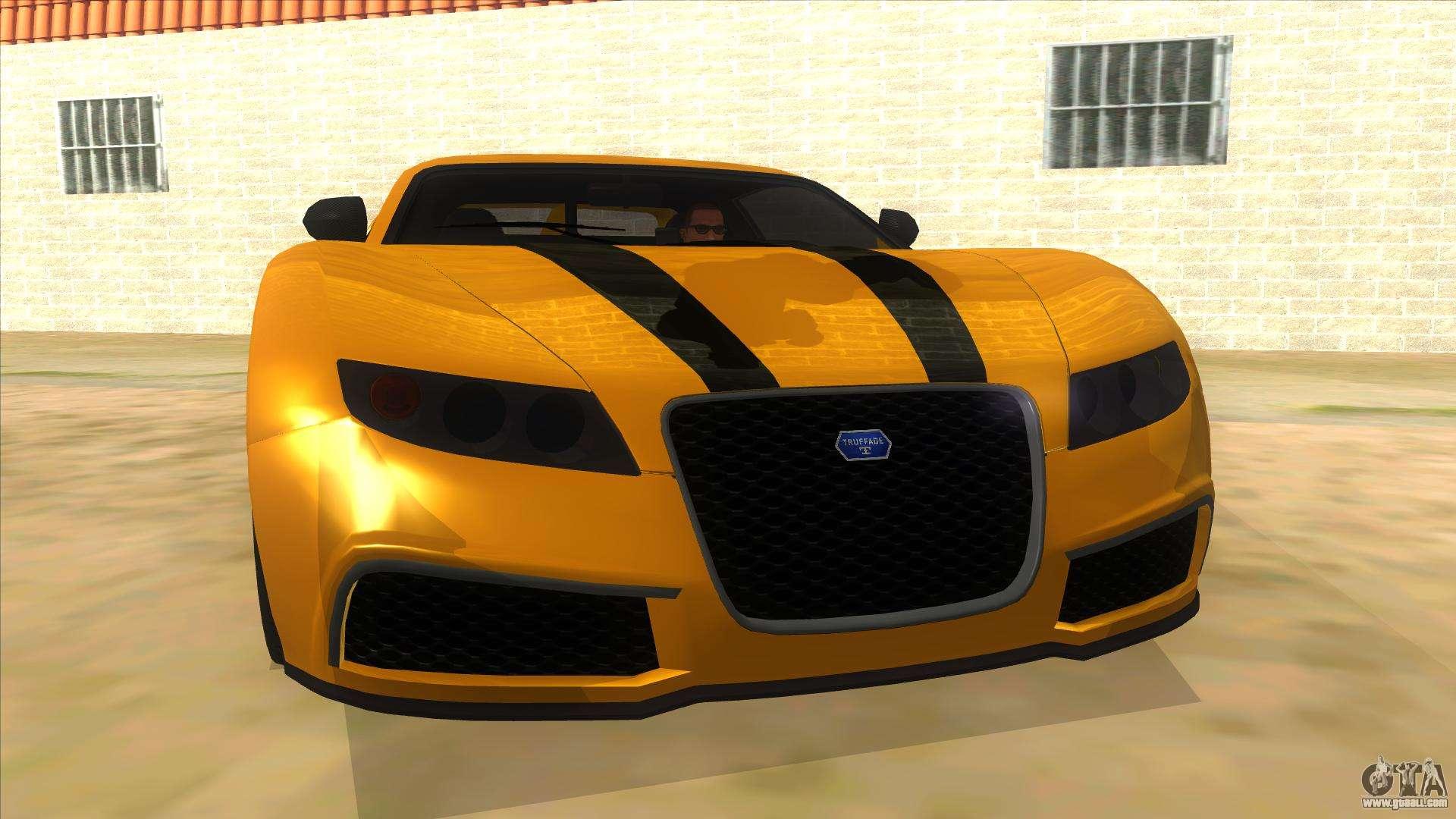 7 Passenger Vehicles >> GTA 5 Truffade Adder for GTA San Andreas