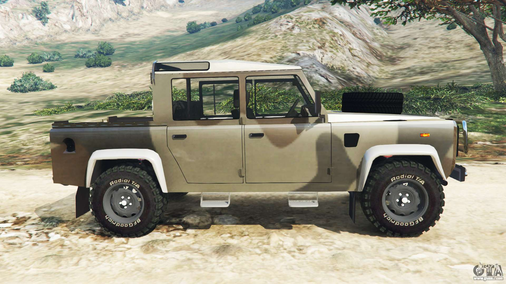 land rover defender 110 pickup for gta 5. Black Bedroom Furniture Sets. Home Design Ideas