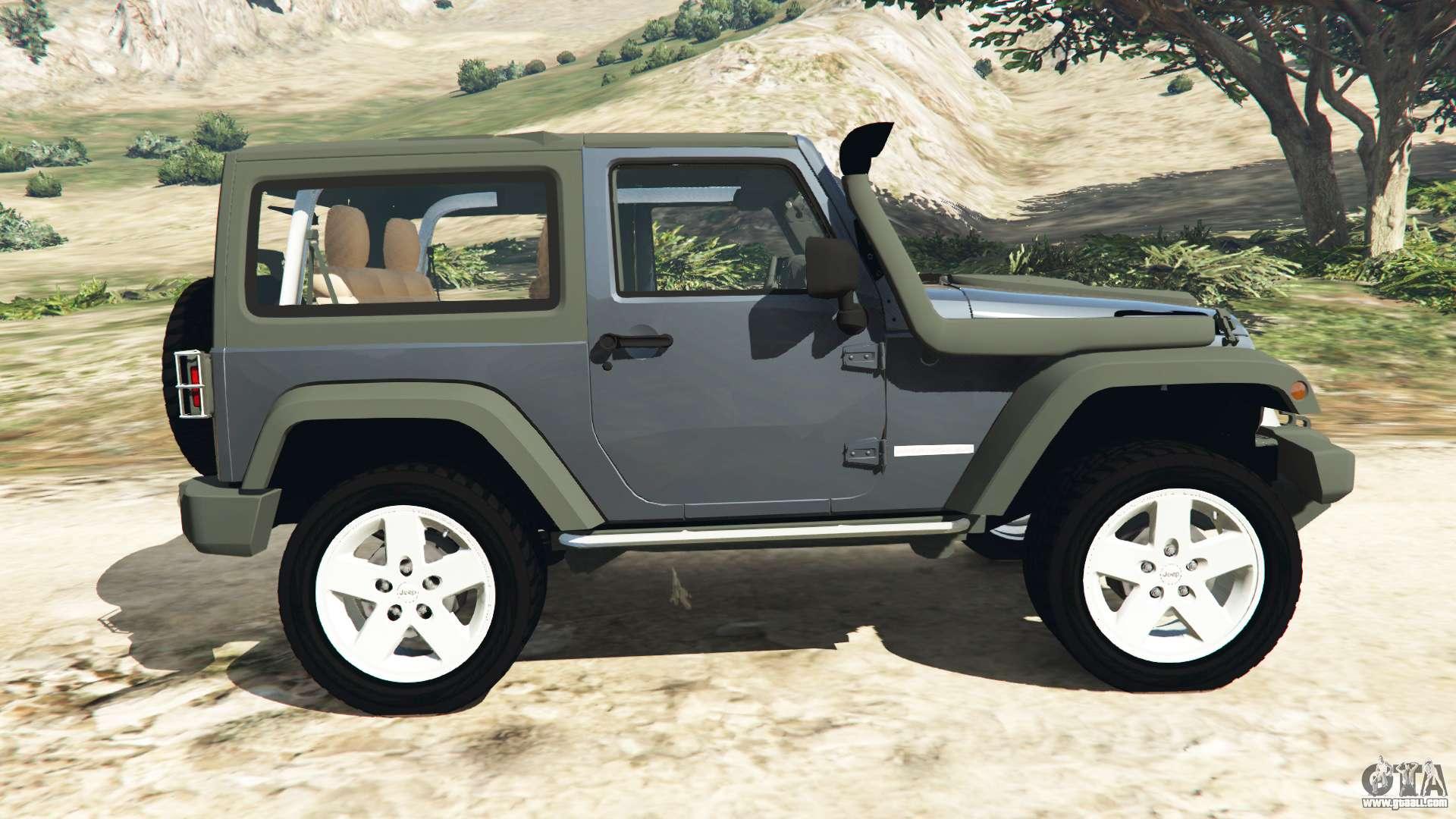 jeep wrangler 2012 v1 1 for gta 5. Black Bedroom Furniture Sets. Home Design Ideas