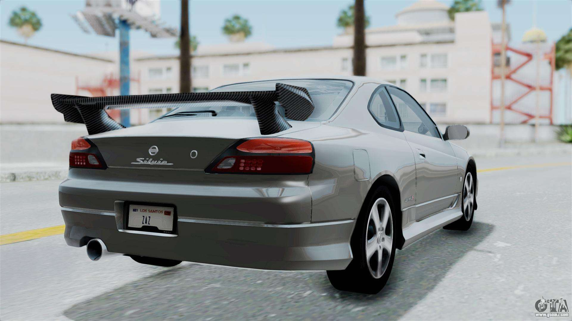 Nissan Silvia S15 Spec R 2000 For GTA San Andreas Left View