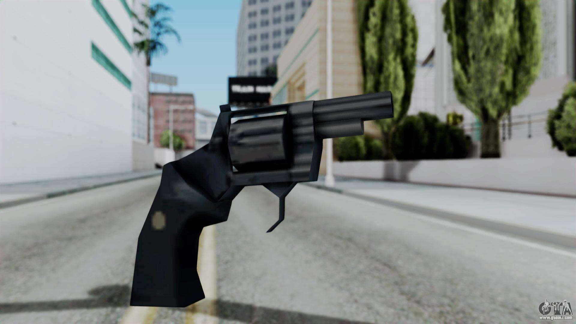 Vice City Beta Shorter Colt Python for GTA San Andreas