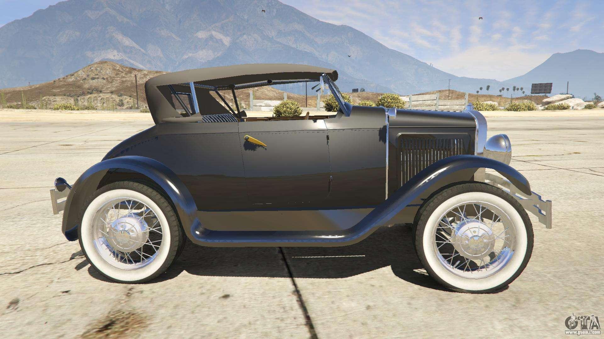 ford t 1927 roadster for gta 5. Black Bedroom Furniture Sets. Home Design Ideas