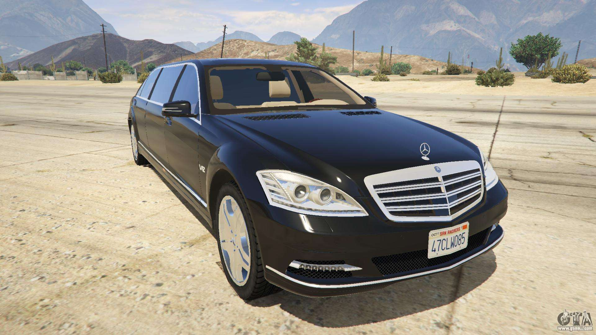 2011 mercedes benz s600 guard pullman for gta 5 for S600 mercedes benz