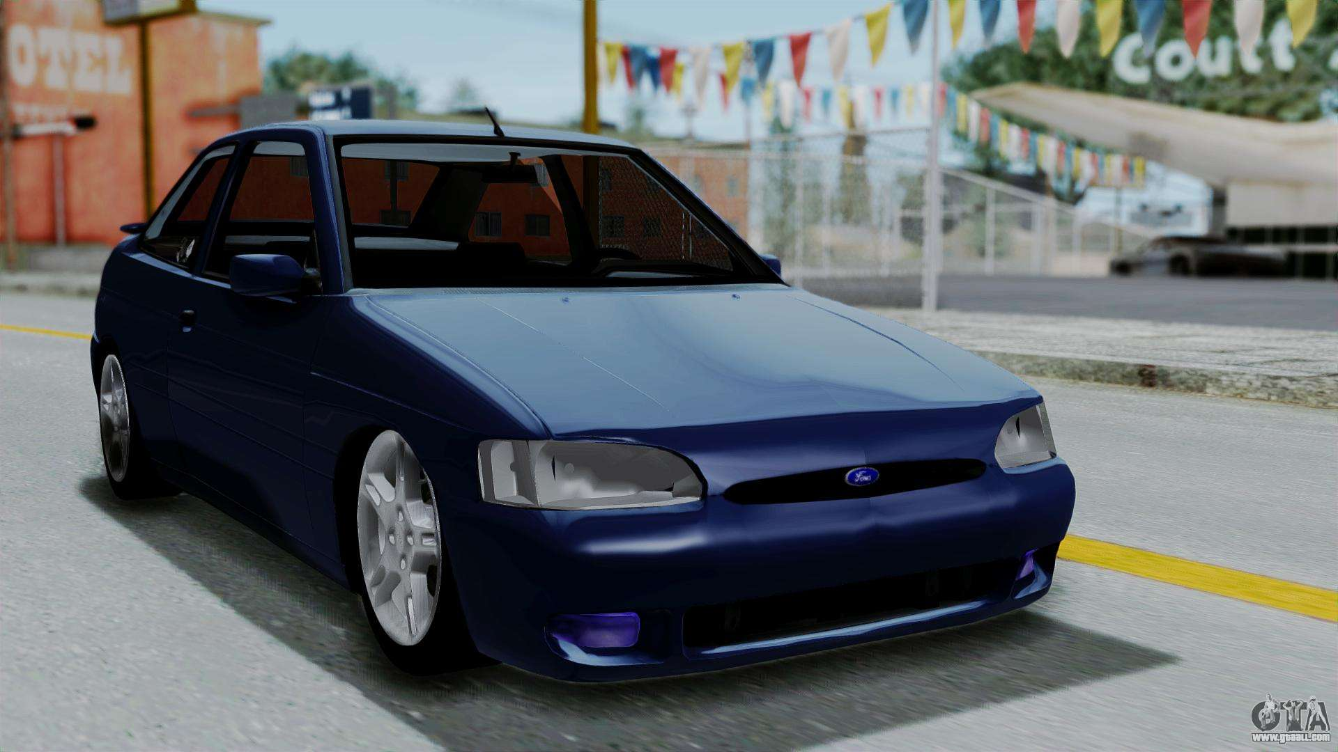 Ford escort gts