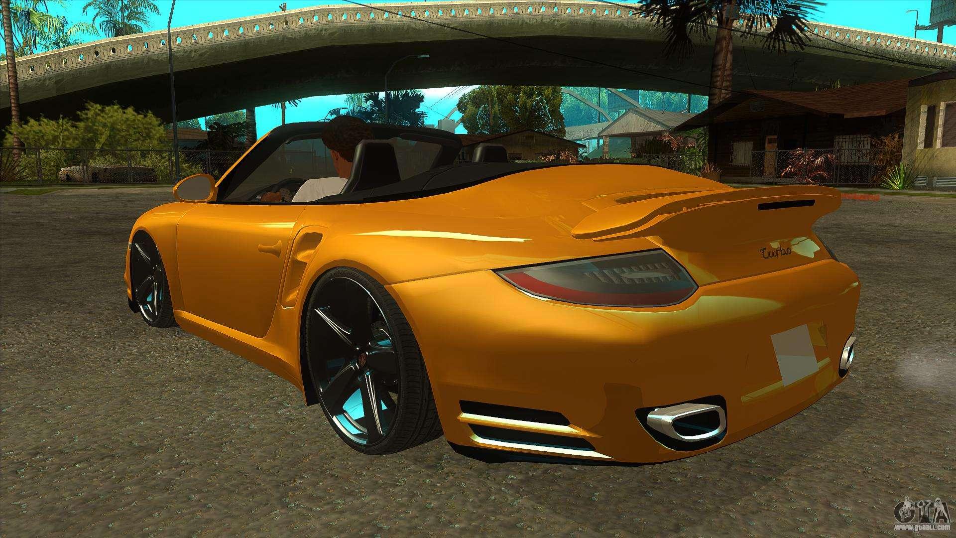 Porsche 911 convertible for GTA San Andreas