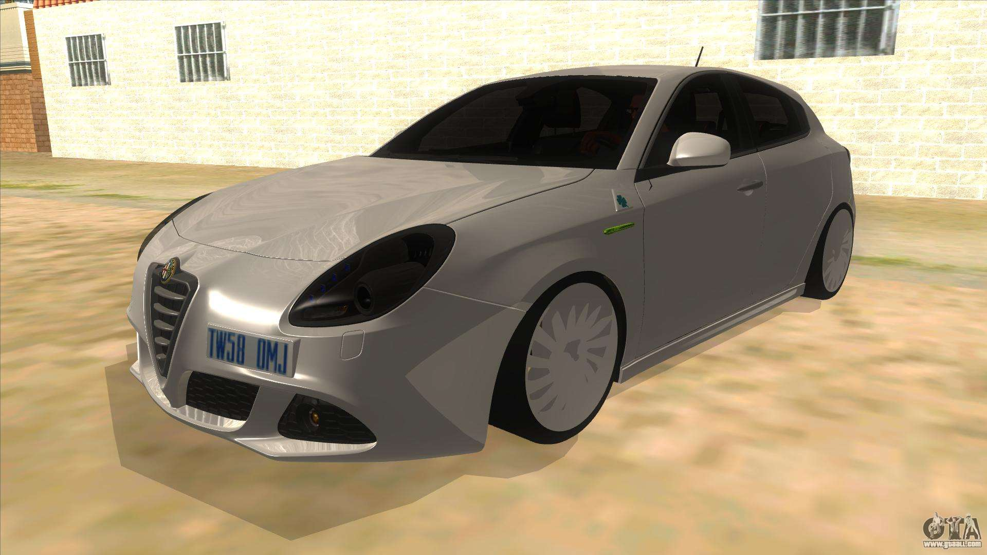 2011 alfa romeo giulietta for gta san andreas. Black Bedroom Furniture Sets. Home Design Ideas