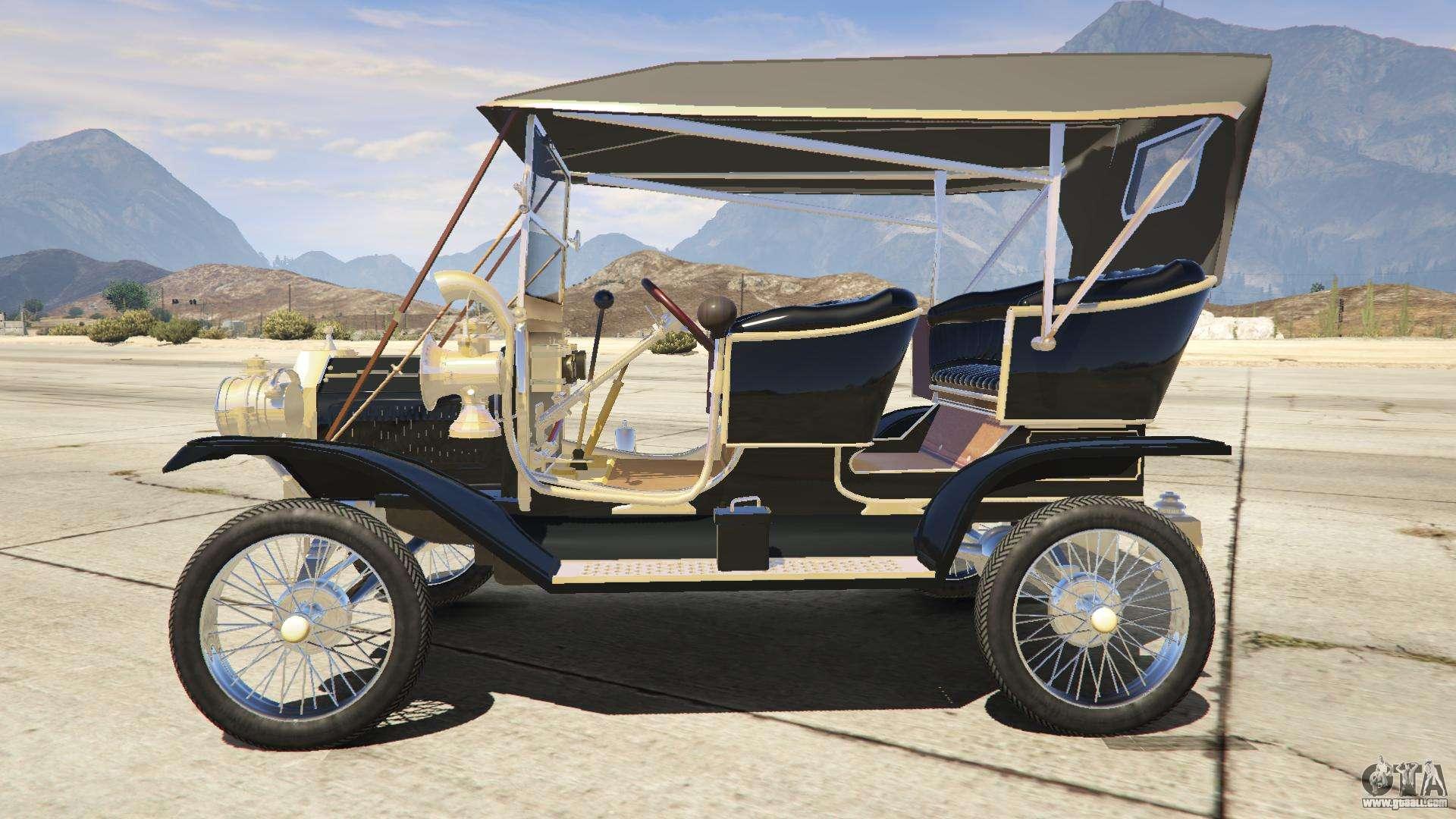 Bravado Bison Gta 5 Ford T 1910 Passenger ...