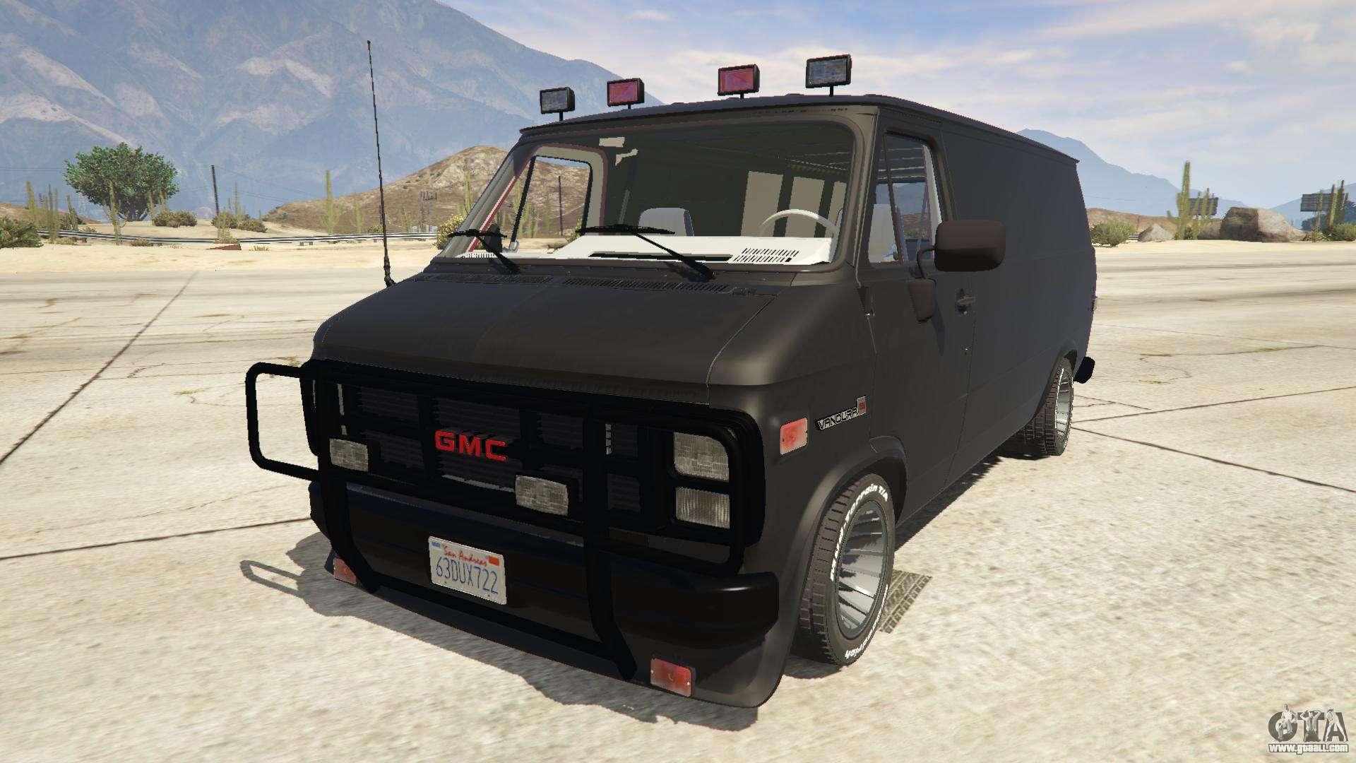 Gmc Vandura A Team Van For Gta 5