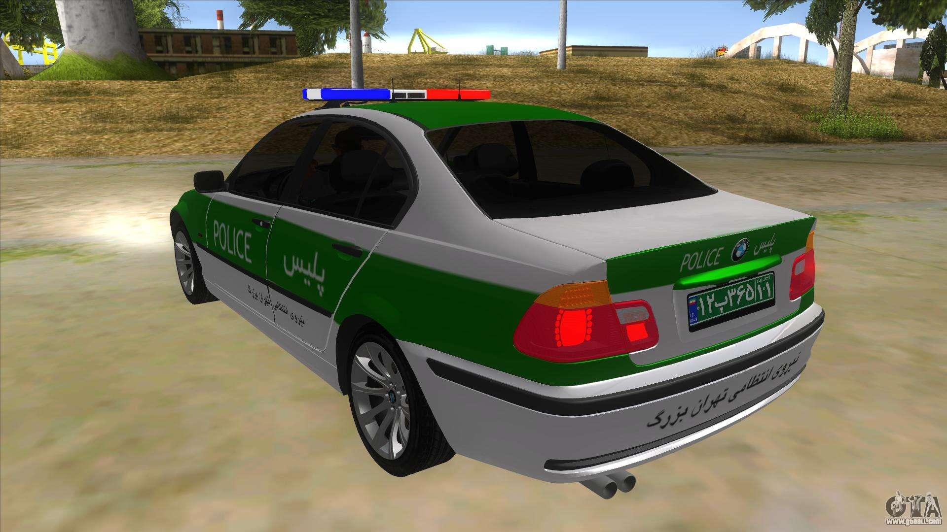 Bmw Iranian Police For Gta San Andreas