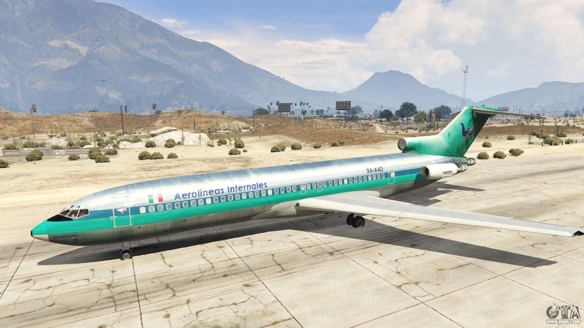 Boeing 727 200 for gta 5