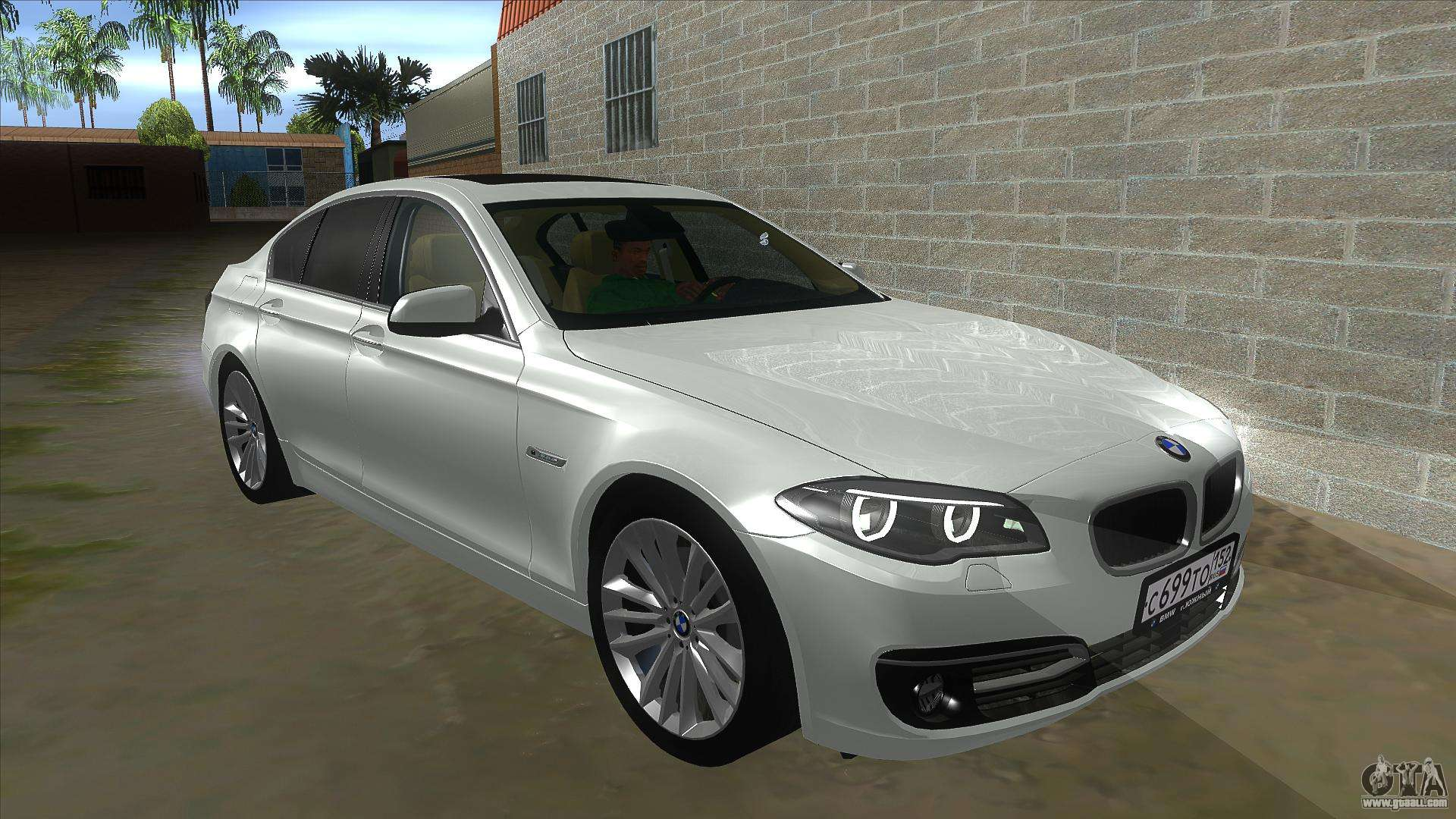bmw 530xd f10 for gta san andreas. Black Bedroom Furniture Sets. Home Design Ideas