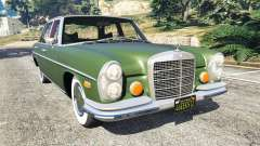 Mercedes-Benz 300SEL 6.3 1972 for GTA 5