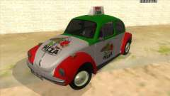 Volkswagen Beetle Pizza