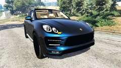 Porsche Macan Turbo 2015 for GTA 5