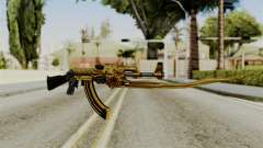 Dragon AK-47 for GTA San Andreas