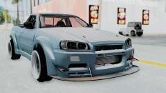 Nissan Skyline R34 PickUp for GTA San Andreas