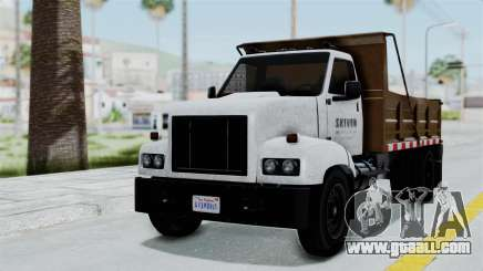 GTA 5 Tipper Second Generation for GTA San Andreas