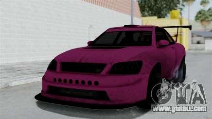 GTA 5 Karin Sultan RS Drift Double Spoiler for GTA San Andreas
