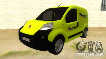 Fiat Fiorino yellow for GTA San Andreas