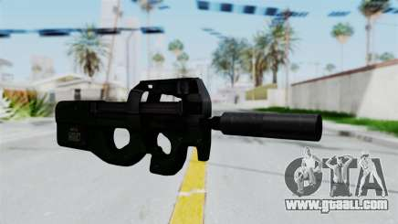 P90 Green for GTA San Andreas