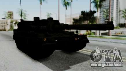 Point Blank Black Panther Woodland IVF for GTA San Andreas